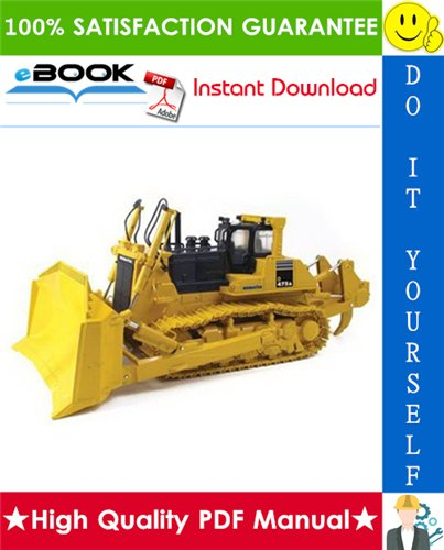 Thumbnail ☆☆ Best ☆☆ Komatsu D475A-3 Super Dozer Field Assembly Manual (Serial Number: 10601 and up)