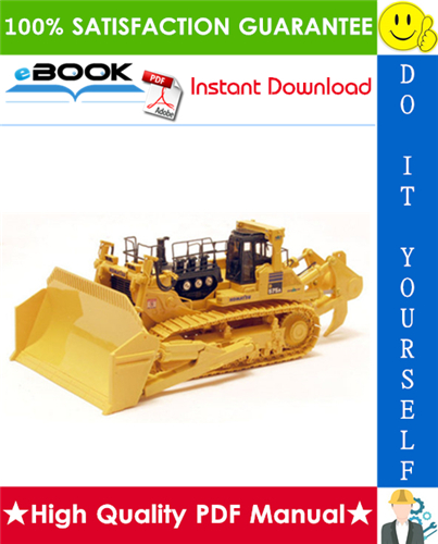 Thumbnail ☆☆ Best ☆☆ Komatsu D575A-2 Bulldozer (With shoe slip controller and variable multiple long shank ripper) Service Repair Manual (Serial Number: 10035 and up)