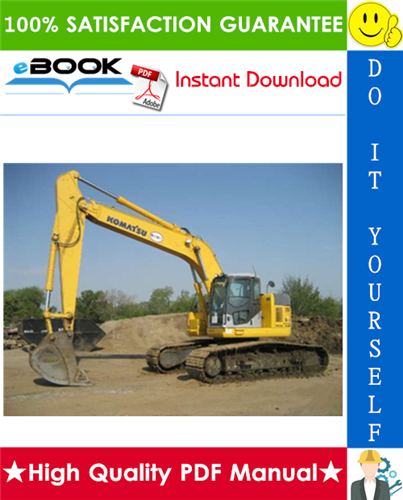 Thumbnail ☆☆ Best ☆☆ Komatsu PC308USLC-3 Hydraulic Excavator Service Repair Manual (Serial Number: 20001 and up)