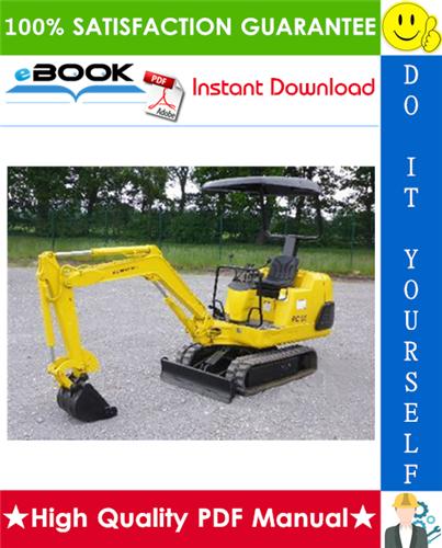 Thumbnail ☆☆ Best ☆☆ Komatsu PC05-6, PC07-1, PC10-6, PC15-2 Hydraulic Excavator Service Repair Manual