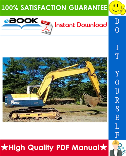 Thumbnail ☆☆ Best ☆☆ Komatsu PC150-5 Hydraulic Excavator Service Repair Manual (Serial Number: 6001 and up)