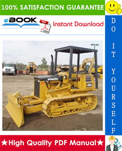 Thumbnail ☆☆ Best ☆☆ Komatsu D20-5, D21A-5, D21P-5, D21PL-5 Bulldozer Service Repair Manual