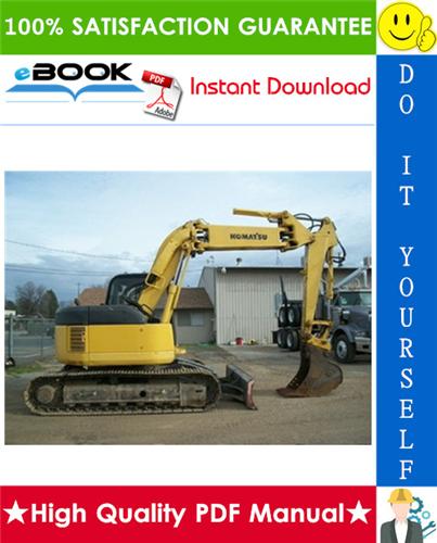 Thumbnail ☆☆ Best ☆☆ Komatsu PC128UU-1, PC128US-1 Hydraulic Excavator Service Repair Manual