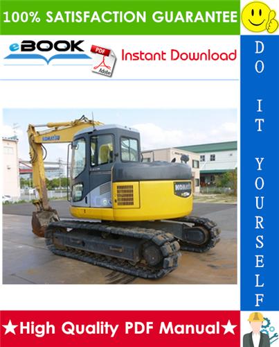 Thumbnail ☆☆ Best ☆☆ Komatsu PC128US-2, PC138US-2, PC138USLC-2E0 Hydraulic Excavator Service Repair Manual