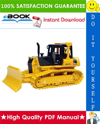 Thumbnail ☆☆ Best ☆☆ Komatsu D61EX-12, D61PX-12 Bulldozer Service Repair Manual