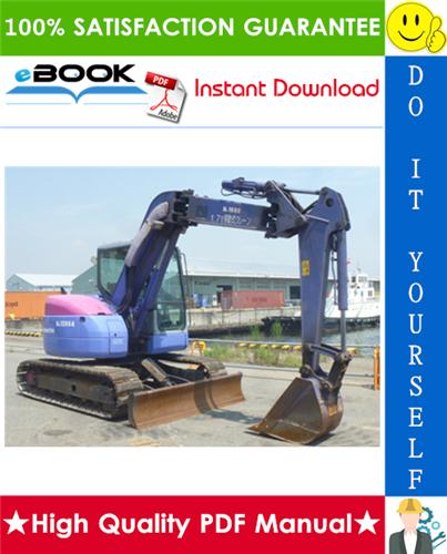 Thumbnail ☆☆ Best ☆☆ Komatsu PC78UU-6, PC78US-6 Hydraulic Excavator Service Repair Manual