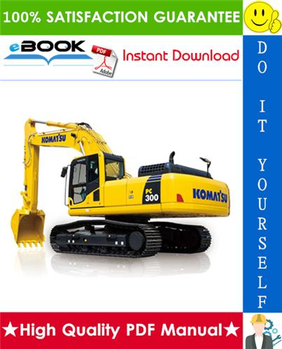 Thumbnail ☆☆ Best ☆☆ Komatsu PC300-7, PC300LC-7, PC350-7, PC350LC-7 Hydraulic Excavator Service Repair Manual