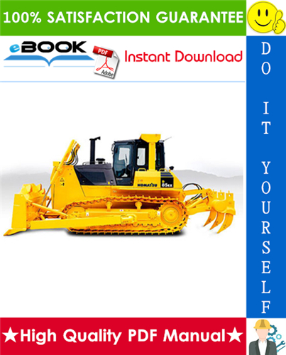 Thumbnail ☆☆ Best ☆☆ Komatsu D85EX-15E0, D85PX-15E0 Bulldozer Service Repair Manual