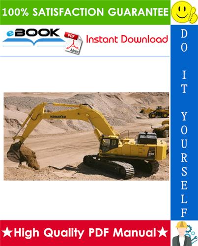 Thumbnail ☆☆ Best ☆☆ Komatsu PC800-8, PC800LC-8, PC800SE-8, PC850-8, PC850SE-8 Hydraulic Excavator Service Repair Manual