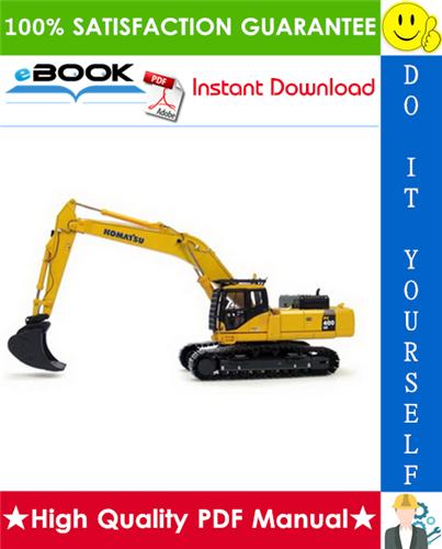 Thumbnail ☆☆ Best ☆☆ Komatsu PC400-7E0, PC400LC-7E0, PC450-7E0, PC450LC-7E0 Hydraulic Excavator Service Repair Manual  (Serial Number: 60001 - 60089, 65001 and up, 30001 - 30058)