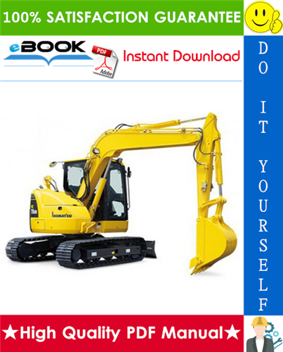 Thumbnail ☆☆ Best ☆☆ Komatsu PC78US-8 Hydraulic Excavator Service Repair Manual (Serial Number: 15001 and up)