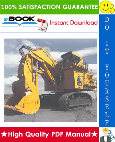 Thumbnail ☆☆ Best ☆☆ Komatsu PC4000-6 Hydraulic Mining Shovel Service Repair Manual (Serial Number: 8172)