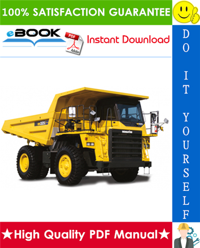 Thumbnail ☆☆ Best ☆☆ Komatsu HD325-6, HD405-6 Dump Truck Operation & Maintenance Manual  (Serial Number: 6370 and up, 2178 and up)