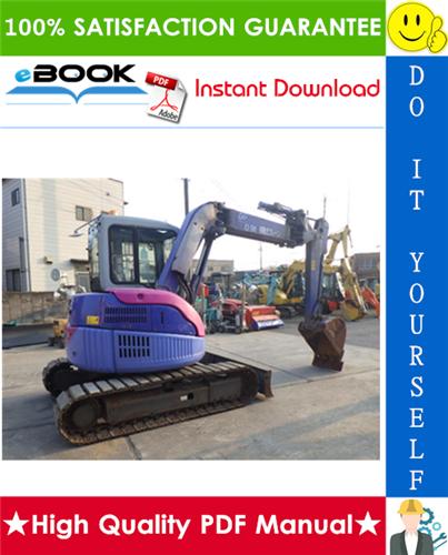 Thumbnail ☆☆ Best ☆☆ Komatsu PC58UU-3 Hydraulic Excavator Operation & Maintenance Manual (Serial Number: 22301 and up)