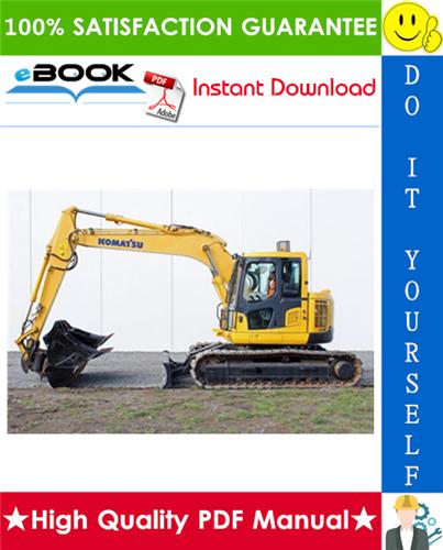 Thumbnail ☆☆ Best ☆☆ Komatsu PC138US-2, PC138USLC-2 Hydraulic Excavator Operation & Maintenance Manual