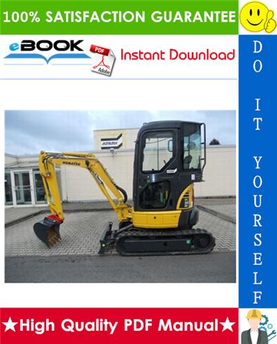 Thumbnail ☆☆ Best ☆☆ Komatsu PC20MR-2 Hydraulic Excavator Operation & Maintenance Manual (Serial Number: 15001 and up)