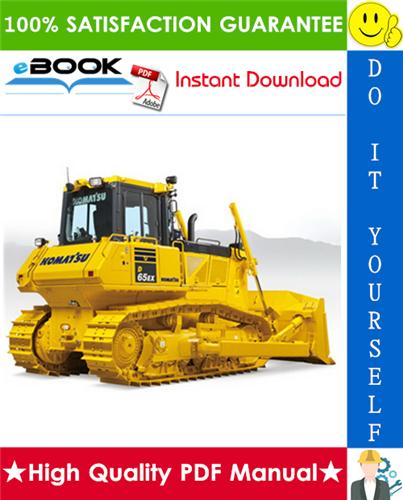 Thumbnail ☆☆ Best ☆☆ Komatsu D65EX-15E0, D65PX-15E0, D65WX-15E0 Bulldozer Operation & Maintenance Manual (Serial Number: 69001 and up)