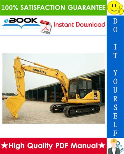 Thumbnail ☆☆ Best ☆☆ Komatsu PC130-6K, PC150LGP-6K Hydraulic Excavator Operation & Maintenance Manual