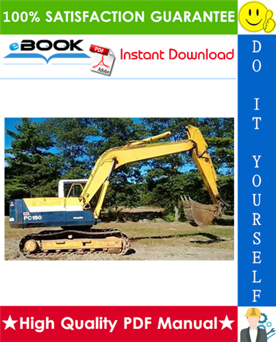Thumbnail ☆☆ Best ☆☆ Komatsu PC150-6K, PC150LC-6K Hydraulic Excavator Service Repair Manual (Serial Number: K32001 and up, K34001 and up)