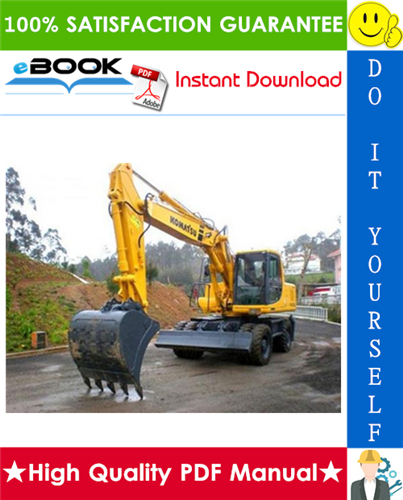 Thumbnail ☆☆ Best ☆☆ Komatsu PW170ES-6K Wheeled Excavator Service Repair Manual (Serial Number: K32001 and up, K34001 and up)