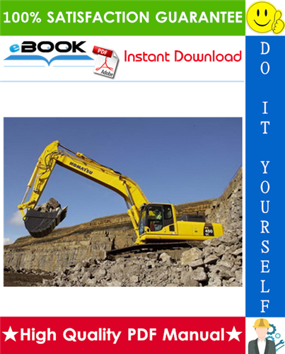 Thumbnail ☆☆ Best ☆☆ Komatsu PC450-6K, PC450LC-6K Hydraulic Excavator Service Repair Manual (Serial Number: K32001 and up, K34001 and up)
