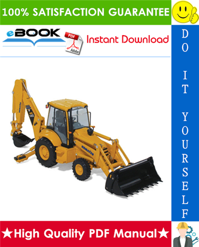 Thumbnail ☆☆ Best ☆☆ Komatsu WB140-2, WB150-2 Backhoe Loader Service Repair Manual (Serial Number: 140F10001 and up, 30026 and up, 150F10001 and up)