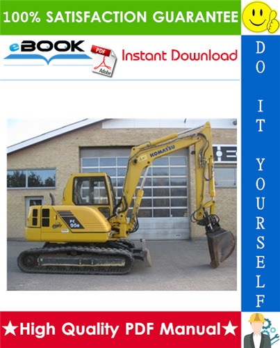 Thumbnail ☆☆ Best ☆☆ Komatsu PC95R-2 Hydraulic Excavator Service Repair Manual (Serial Number: 21D5210001 and up, 21D5220001 and up)