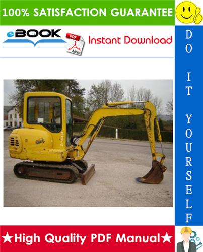 Thumbnail ☆☆ Best ☆☆ Komatsu PC20-6, PC30-6, PC40-6 Hydraulic Excavator Service Repair Manual
