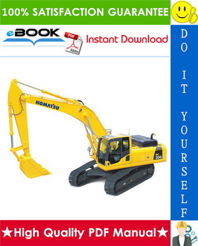 Thumbnail ☆☆ Best ☆☆ Komatsu PC300-5, PC300LC-5, PC300-5 Mighty, PC300LC-5 Mighty, PC300HD-5, PC400-5, PC400LC-5, PC400-5 Mighty, PC400LC-5 Mighty, PC400HD-5 Hydraulic Excavator Serv