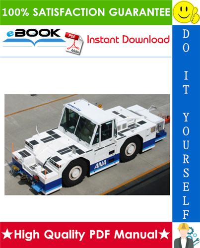 Thumbnail ☆☆ Best ☆☆ Komatsu Towing Tractor WT500E-1 Service Repair Manual