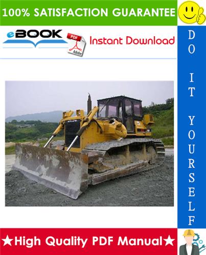 Thumbnail ☆☆ Best ☆☆ Komatsu D60A-7, D60E-7, D60P-7, D60PL-7, D65A-7, D65E-7, D65P-7 Bulldozer Service Repair Manual (Serial Number: 40001 and up)