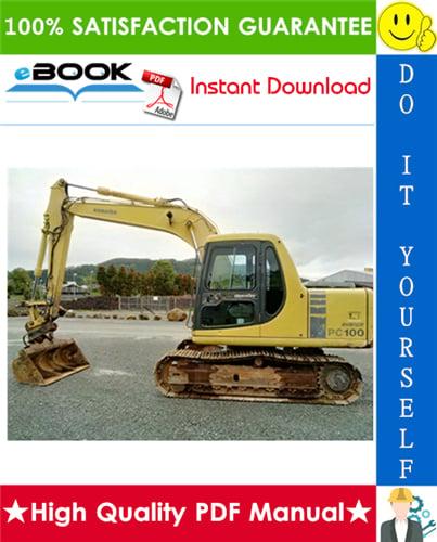 Thumbnail ☆☆ Best ☆☆ Komatsu PC100-6, PC100L-6, PC120-6, PC120LC-6, PC130-6 Excavator Service Repair Manual