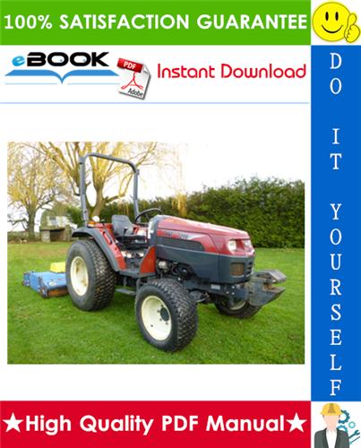 Thumbnail ☆☆ Best ☆☆ TYM T290, T300, T330 Tractors Operation & Maintenance Manual