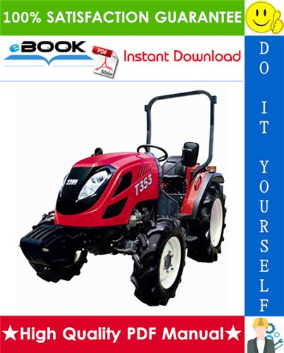 Thumbnail ☆☆ Best ☆☆ TYM T303, T353 Tractors Operation & Maintenance Manual