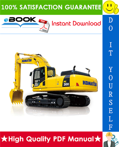Thumbnail ☆☆ Best ☆☆ Komatsu PC300-8, PC300LC-8, PC350-8, PC350LC-8 Galeo Hydraulic Excavator Service Repair Manual (Serial Number: 60001 and up)