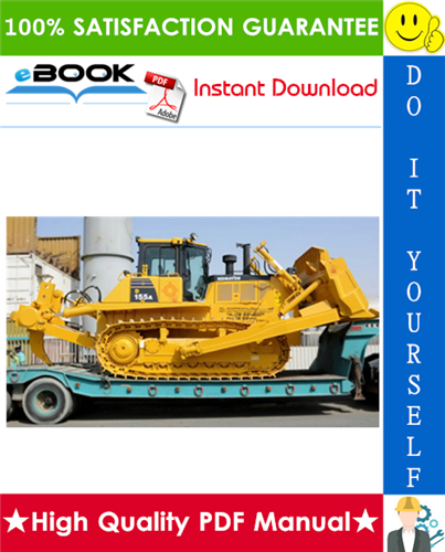 Thumbnail ☆☆ Best ☆☆ Komatsu D155A-6 Bulldozer Service Repair Manual (Serial Number: 85001 and up)