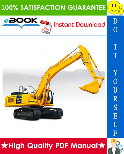 Thumbnail ☆☆ Best ☆☆ Komatsu PC360LC-10 Hydraulic Excavator Service Repair Manual (Serial Number: 70001 and up)
