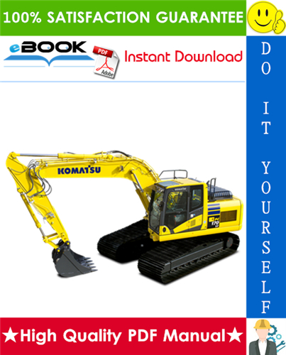 Thumbnail ☆☆ Best ☆☆ Komatsu PC170LC-10 Hydraulic Excavator Service Repair Manual (Serial Number: 30001 and up)