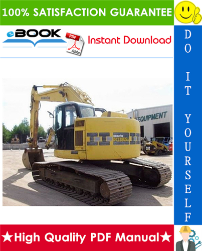 Thumbnail ☆☆ Best ☆☆ Komatsu PC228USLC-10 Hydraulic Excavator Service Repair Manual (Serial Number: 1002 and up)