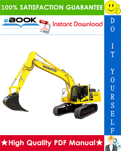 Thumbnail ☆☆ Best ☆☆ Komatsu PC240LC-11 Hydraulic Excavator Service Repair Manual (Serial Number: A22001 and up)