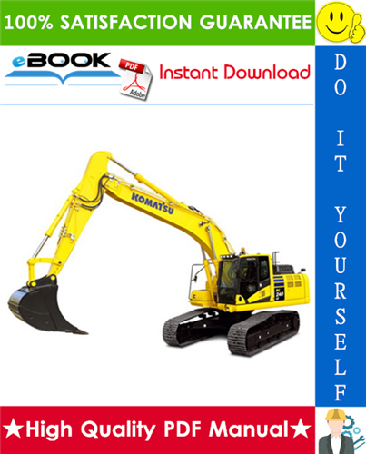 Thumbnail ☆☆ Best ☆☆ Komatsu PC240LC-11 Hydraulic Excavator Service Repair Manual (Serial Number: 95001 and up)