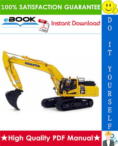 Thumbnail ☆☆ Best ☆☆ Komatsu PC490LC-11 Hydraulic Excavator Field Assembly Manual (Serial Number: 85001 and up)