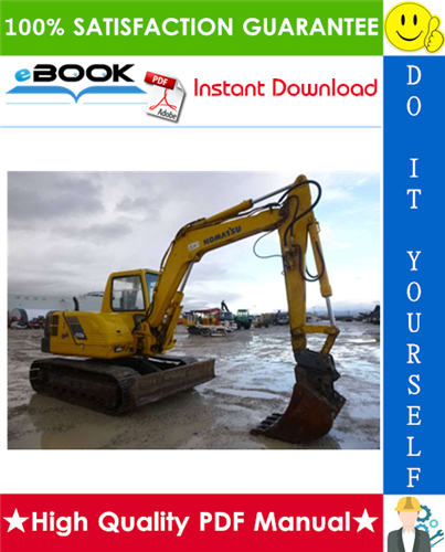 Thumbnail ☆☆ Best ☆☆ Komatsu PC110R-1 Hydraulic Excavator Operation & Maintenance Manual (Serial Number: 2265010001 and up)