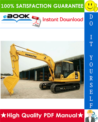 Thumbnail ☆☆ Best ☆☆ Komatsu PC130-7 Hydraulic Excavator Service Repair Manual (Serial Number: 70001 and up)