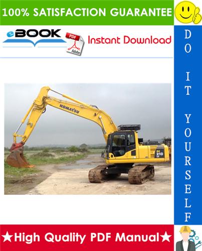 Thumbnail ☆☆ Best ☆☆ Komatsu PC210-7K, PC210LC-7K, PC210NLC-7K, PC230NHD-7K, PC240LC-7K, PC240NLC-7K Hydraulic Excavator Operation & Maintenance Manual