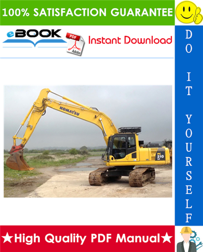 Thumbnail ☆☆ Best ☆☆ Komatsu PC210-8, PC210LC-8, PC210NLC-8, PC230NHD-8, PC240LC-8, PC240NLC-8 Hydraulic Excavator Service Repair Manual (Serial Number: K50001 and up)