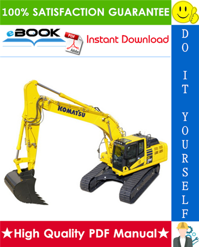 Thumbnail ☆☆ Best ☆☆ Komatsu PC290LC-8, PC290NLC-8 Hydraulic Excavator Service Repair Manual (Serial Number: K50001 and up)