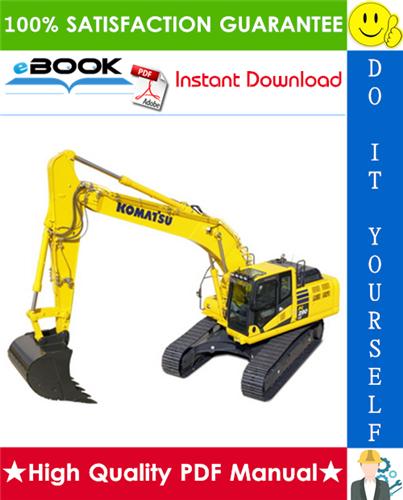 Thumbnail ☆☆ Best ☆☆ Komatsu PC290LC-7K, PC290NLC-7K Hydraulic Excavator Operation & Maintenance Manual (Serial Number: K40001 and up)
