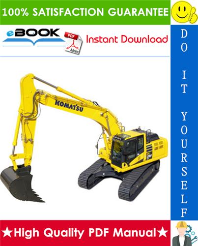 Thumbnail ☆☆ Best ☆☆ Komatsu PC290LC-7K, PC290NLC-7K Hydraulic Excavator Operation & Maintenance Manual (Serial Number: K40395 and up)