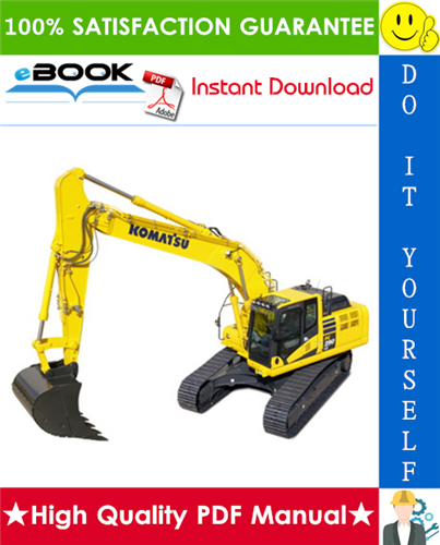 Thumbnail ☆☆ Best ☆☆ Komatsu PC290LC-6K, PC290NLC-6K Hydraulic Excavator Service Repair Manual (Serial Number: K30001 and up, K34001 and up)